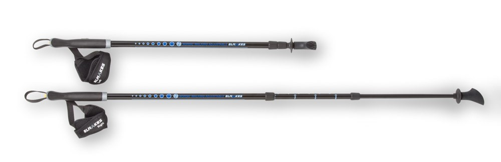 Nordic Walking pole Elmakes Adjustable klein